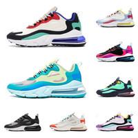 Sıcak erkekler kadınlar koşu ayakkabı tepki BAUHAUS HYPER JADE HYPER PEMBE SAĞ KESME moda koşucular erkek eğitmenler açık sneakers