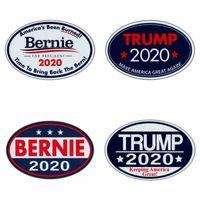 Elips Buzdolabı Mıknatısları TRUMP Bernie 2020 Mektuplar Desen Sticker Çok Renkler Cumhurbaşkanlığı Seçim Tarzı Çıkartmalar Sıcak Satış 1 6jw L1