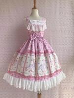 Tek Parça Stil Pembe Kalite Tema Kostüm Moda Giyim Tasarımcı Kadın Elbise Tatlı Lolita Giydirme Plus Size