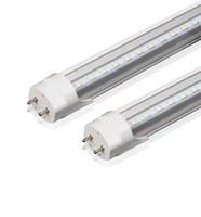 LED-Röhre 2ft 3ft 4ft T8 LED-Röhre Hohe super helle 11W 14W 18W LED-Leuchtstofflampen AC85-265V