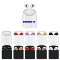 5.0 TWS i7s Auriculares inalámbricos Bluetooth Mini Auriculares Auriculares Bluetooth con caja de carga para Android Apple iPhone