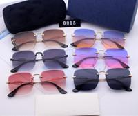 2019 novíssimo Itália clássico marca óculos de sol mulher do projeto de moda 0015 óculos de sol homem de boa qualidade condução protegem vidros