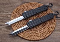 Bench Mini Made Catena Key Catena Automatica Coltello Automatico EDC Pocket Survival Knife Cold 440C acciaio Auto Coltello da campeggio Tattiche BM 940 550 551