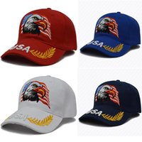 Snapbacks Trump Ball Cap Embroidery USA Trump Hats Embroider...