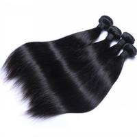 Brasileña del pelo peruano 12-30inch Exetenions Cuerpo Virgen de la onda del pelo humano 10 piezas whosale precio mixto Longitud de la armadura del pelo