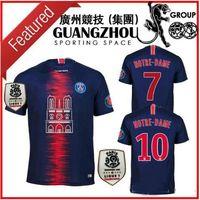 251efd2002355 Camiseta Mujer Jersey 2019   10 NEYMAR JR PSG Camiseta De Fútbol 18 ...
