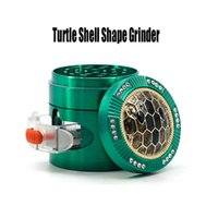 Turtle Shell Shape Grinder 63mm Herb Grinder Metal Grinder C...