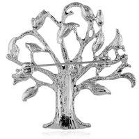 بالجملة، والشعبية الأميركية قطرة زيت شجرة الحياة بروش مع مشبك العين بروش وشاح الحرير الشيطان الماس تحظى بشعبية