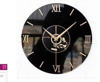 12 pouces Arcylic CD enregistrement vinyle horloge murale pendaison décorative livres d'art Decor clock Classic horloge murale exclusive