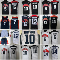 2012 Team USA Basketball Jersey 10 KB US 5 Kevin Durant LeBron James 6 12 Harden 7 Russell Westbrook Chris Paul Deron Williams Anthony Davis