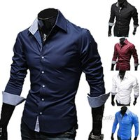 Meihuida 남성 패션 인쇄 된 셔츠 서양식 정장 셔츠 캐주얼 패턴 꽃 비즈니스 스탠드 칼라 셔츠를 입는다