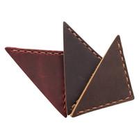 signets en cuir Bookmark vintage fait main pour livres, marqueurs page d'angle en cuir véritable, signets en cuir pleine grain pour livre
