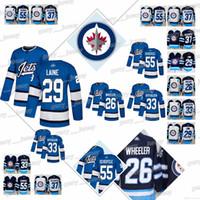 New Arrival. Winnipeg Jets Jersey  26 Blake Wheeler  29 Patrik Laine  33  Dustin Byfuglien  37 Connor Hellebuyck ... 86d642637