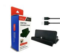 Multifuncional Dock Station de Carregamento para Nintendo Nintend Switch ConsoleControl Carregador Joy Con Stand Game Card Storage