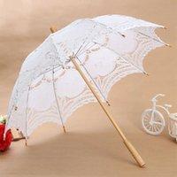 Dentelle Ombrelle De Fleur Lace Parapluie Parasol Blanc Partie Mariage