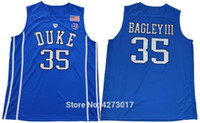 4abaf291d New Arrival. Mens 2018 Duke Blue Devils 35 Marvin Bagley III College Basketball  Jerseys Mens Blue Black Bagley III Stitched Shirts NCAA