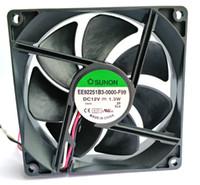 SUNON 9225 12V 1.3W EE92251B3-0000-F99 KDE1209PTV3 3 선 냉각 팬
