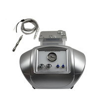 T12 2 in 1 portatile di cristallo Diamante Tip microdermoabrasione macchina di ringiovanimento della pelle di pulizia della macchina Per Facial Peeling della pelle