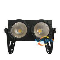 Sailwin Stage Light Cheap 2x100W 200W COB 2en1 Warmwhite / coolwhite LED Blinder LED Public Theater Spots Studio