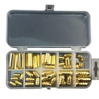 50Pcs Messing Gewindeblei Senkblei Mold Gewehrkugel-Form Copper Drop Shot Gewichte Angeln Sinker Formen für Texas Rig Angelausrüstung