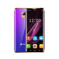 도매 싼 오리지널 브랜드 4g 휴대폰 안드로이드 스마트 폰의 잠금을 해제 1백28기가바이트 + 32기가바이트 아름다운 패션 미니 스마트 휴대 전화 LTE 휴대폰