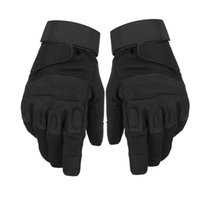 Winter Leather Gloves Touch Screen Gloves Male Army Guantes ...