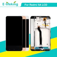 Display LCD per Xiaomi Redmi 5A Touch Screen Digitizer Assembly con telaio per Redmi 5A Sostituzione LCD originale