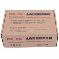 도매 최신 110V / 220V 완전 자동 전기 자동차 배터리 충전기 지능형 펄스 수리 유형 배터리 충전기 12V / 24V 100Ah