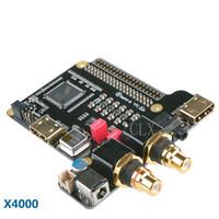 Freeshipping Raspberry Pi X4000 ES9018K2M Scheda di espansione DAC giocatore Hi-Fi per Raspberry Pi 3 Modello B / 2B / B