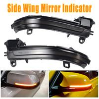 Indicateur Clignotant Indicateur de miroir Dynamique LED Tournage Signal Signal pour BMW 1 2 3 4 Série F32 F33 F36 F87 GT X1 E84