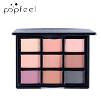 9 Colors Eyeshadow Palettes Gorgeous Silky Powder Profession...