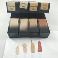 En stock! 2019 Nouvelle marque Maquiagem 4 Couleurs Fondation de maquillage de maquillage Telllighter Compagnon moyenne-couverture Fondation liquide DHL