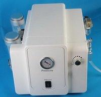 2 IN 1 poudre de cristal microdermabrasion cristal microdermabrasion diamant Dermabrasion peau Peeling machine avec pompe importée