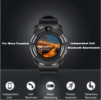 V8 Smart Watch Bluetooth Часы Android с DZ09 GT08 SmartWatch для Apple SmartWatch для iOS Android с камерой