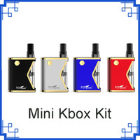 Original Kangvape Mini K Kit 400mAh VV caixa de bateria Mod 0,5 ml 510 Vape Grosso Oil atomizador Cartridge vs th710 kit DHL