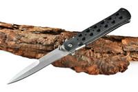 FREDDO 26S ACCIAIO tre modelli 440 di tasca piegante di campeggio di sopravvivenza della lama di natale del regalo delle lame coltello
