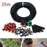 25 м набор орошения DIY автоматическое автоматическое капельное орошение садовые водонепроницаемые наборы 4/7 капиллярных капилляров