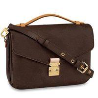 Fábrica de atacado Mulheres Moda Bolsas Cruz de ombro corpo Bags boa qualidade bolsas das senhoras Handbag M44876 40780
