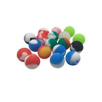 FDA Approved маленький шарик силиконовый Container Jars Dab Для Concentrate Oil Wax 5,6 мл сухого Herbal Oil Slick контейнер