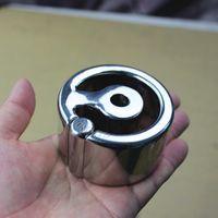 6 Taglie Bockrings Acciaio inossidabile Gloove Design Scrotum Sfera Stretching Esercizio Peso-cuscinetto Peso Anello Egg Pendente Gioco Adulto per gli uomini BB322