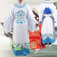 Vendite speciali Squisiti costumi tradizionali dell'opera Abbigliamento Pechino Yue Chuan L'abito del drago imperatore Python ha migliorato l'abbigliamento
