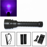 New UV 5x Led Diving Flashlight Waterproof Dive Torch Light ...