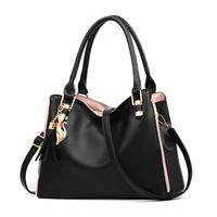 HBP حقائب النساء حقائب محافظ جلدية crossbodybags الكتف رسول حمل حقيبة محفظة الأسود