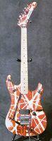 Гитара высокого качества электрическая, Eddie Van Halen 5150 Лучшего качество гитары, в возрасте реликтового й, модернизированное металлических изделия качества, 5150 гитара