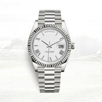 lüks saat otomatik klasik erkek Day-Date 40mm tam paslanmaz çelik 5ATM su geçirmez süper parlak montre de luxe saatler mens
