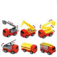 Diecast Mini Aleación Construcción Vehículo Ingeniería Coche Dump-car Dump Truck Modelo Classic Toy Mini regalo para niño