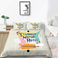 King Size Bedding Set Road Sign Fresh Fashionable Duvet Cove...