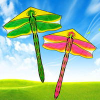 Dragonfly Kite Outdoor Fun Sports 1.76m Windkraft Insekt Long Tail Fliegende Werkzeuge