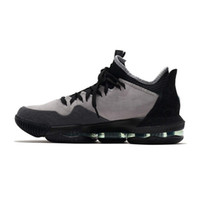 size 40 1bf57 b8645 Cheap mens lebron 16 low basketball shoe for sale Black Gold Tan Red White  Grey Multi youth kids new lebrons sneakers size 7 12 wholesale