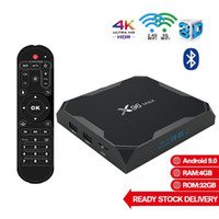 X96 MAX Amlogic S905X3 4GB 32GB Android 9. 0 TV Boxes Dual WI...